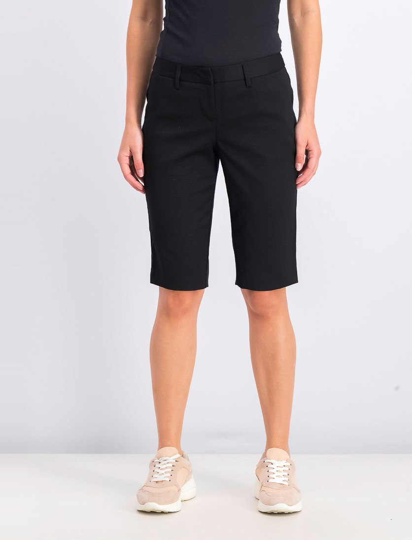 Women's Stretch Bermuda Short, Black