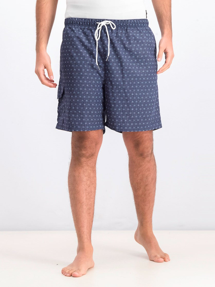 Men's Geometric Star Short, Moodi