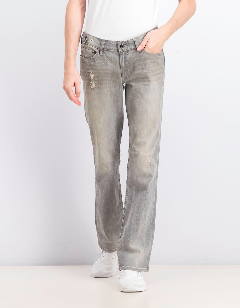 Men's Heritage Straight Jeans, London Grey