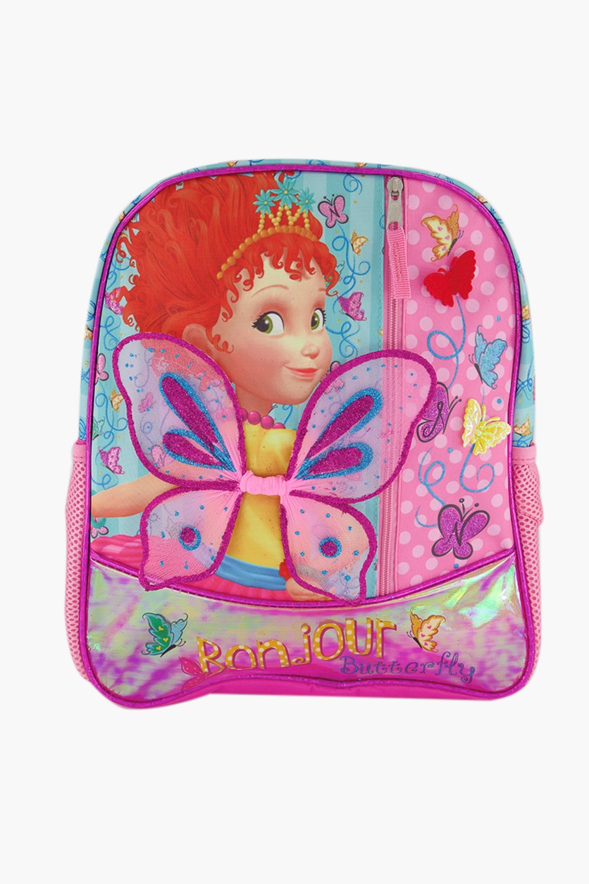 Big Girls Fancy Nancy Backpack, Pink Combo