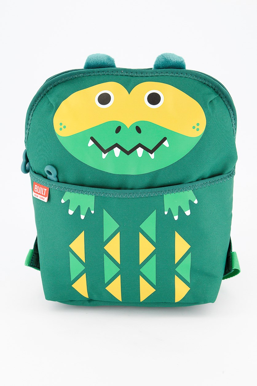 Big Apple Buddies Alligator Lunchpack, Green