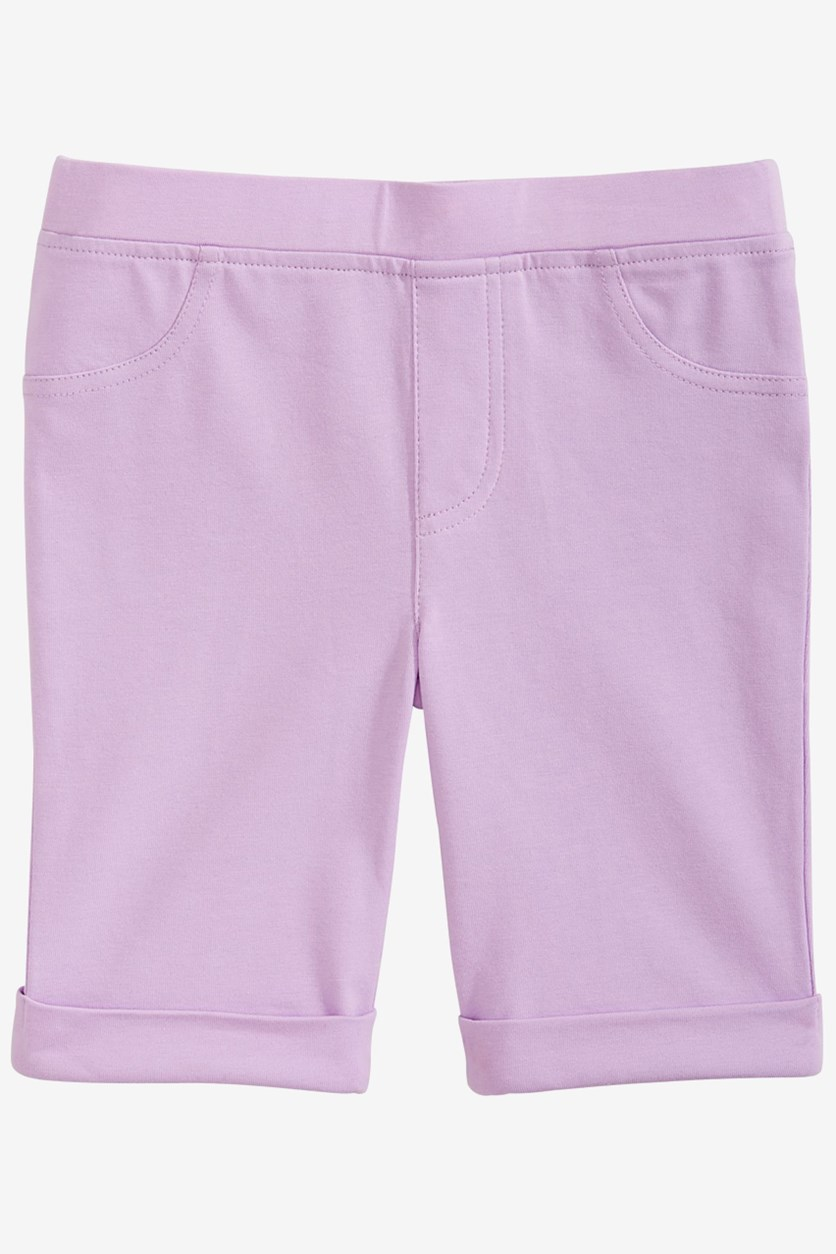 Girl's Two Pocket Bermuda Shorts, Orchid Bloom
