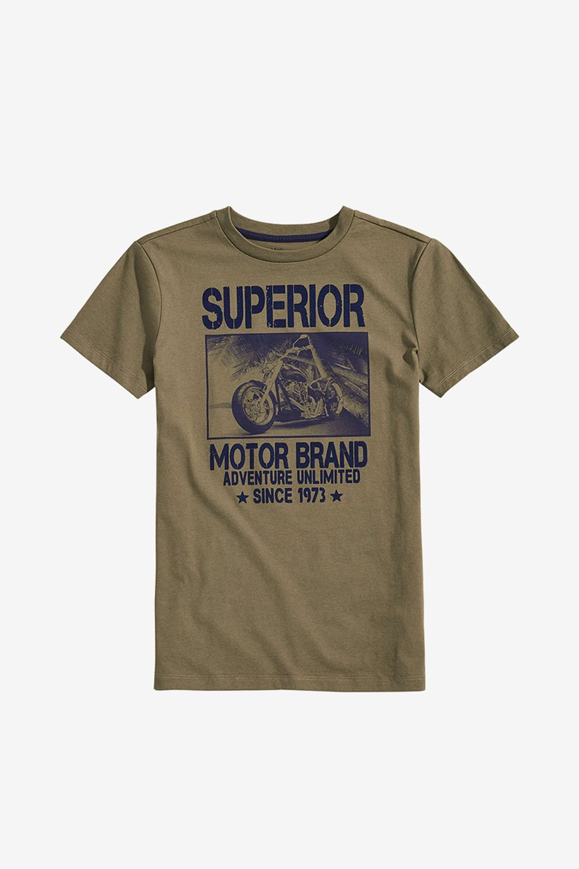 Big Boys Superior Graphic T-Shirt, Spiced Sage