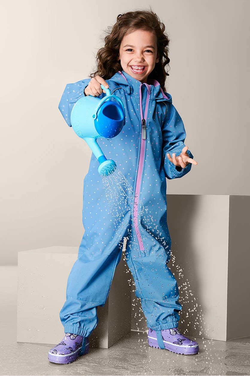 Toddlers Softshell Overall, Blue