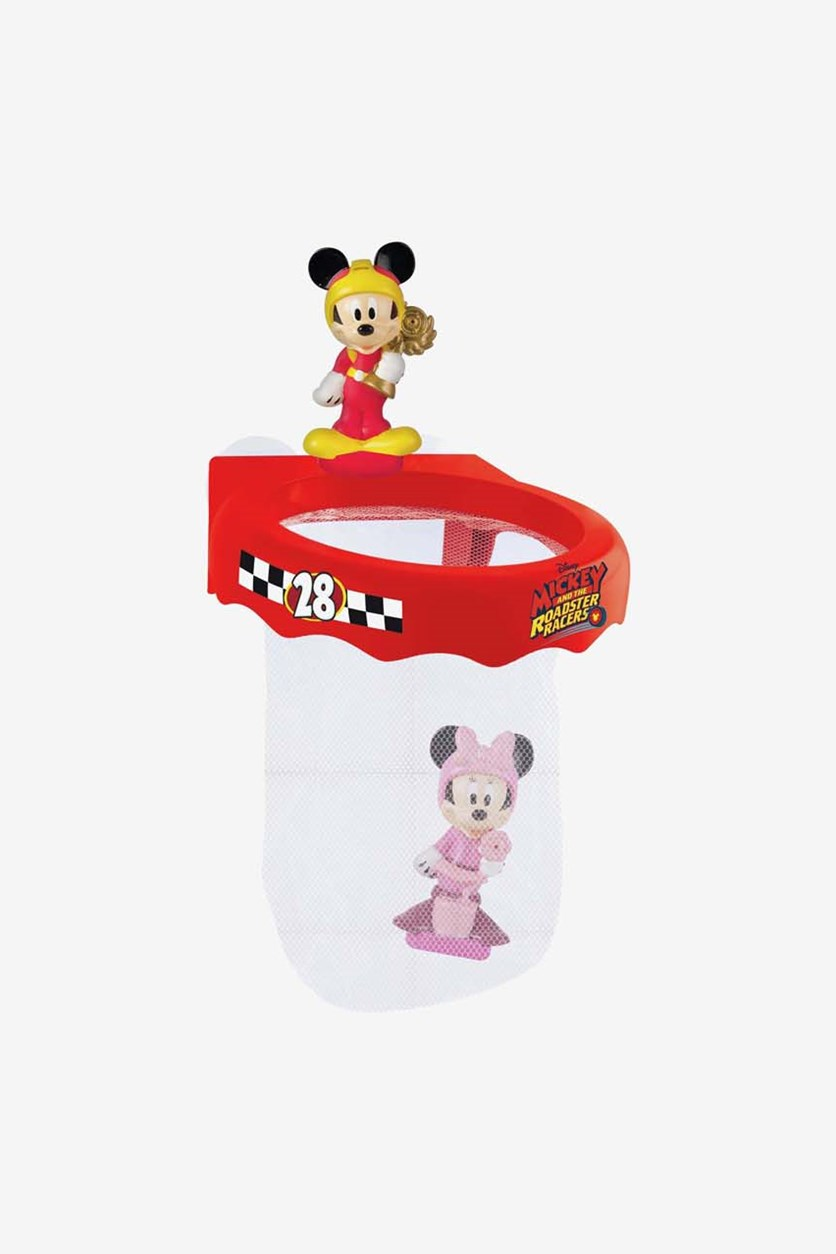 Kids Bath Time Fun With Mickey, Red/Pink