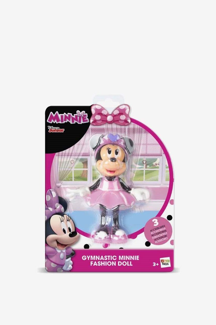 Gymnastic Minnie Fashion Doll, Pink