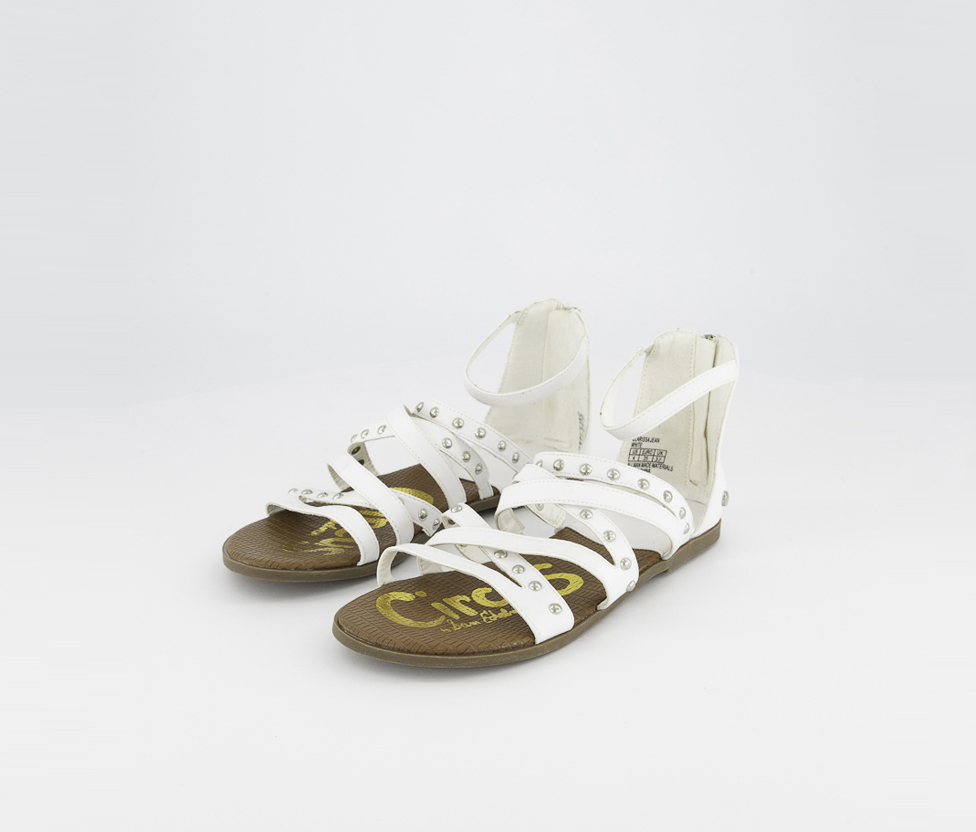 Girl's Clarissa Jean Sandals, White