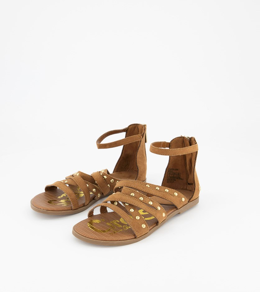 Girl's Clarissa Jean Sandals, Saddle