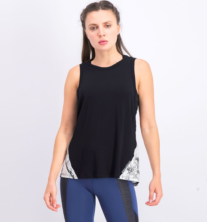 Mia Tank, Black/Moon