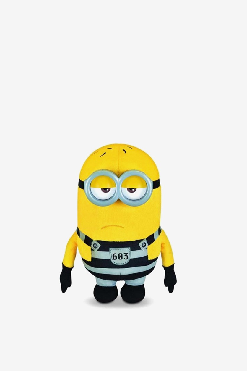 Despicable Me 3 Deluxe Electronic Huggable, Yellow/Black