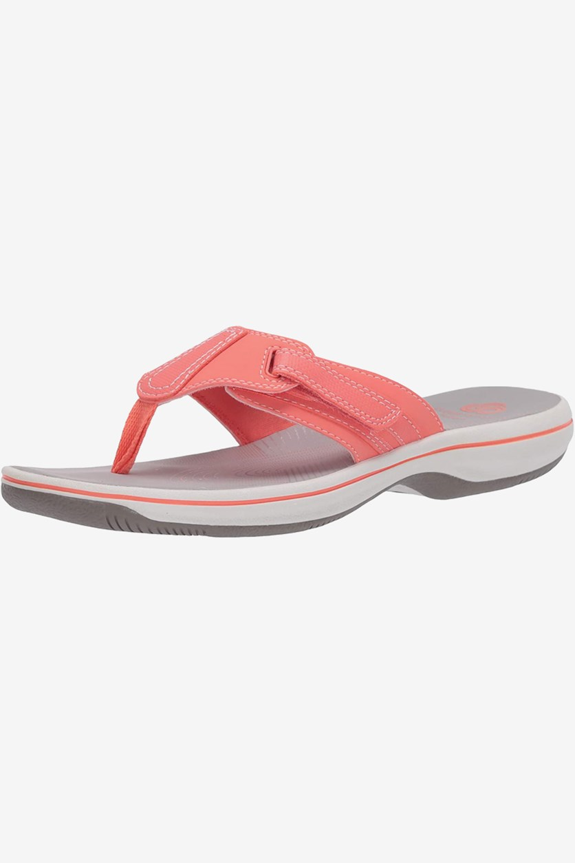 Women's Brinkley Sail Flip-flop, Coral Synthetic