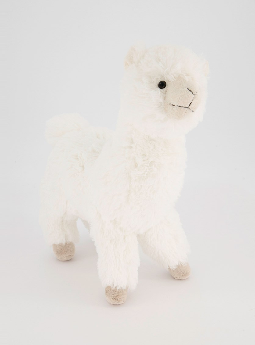 Lama Dolly Plush Toys, White