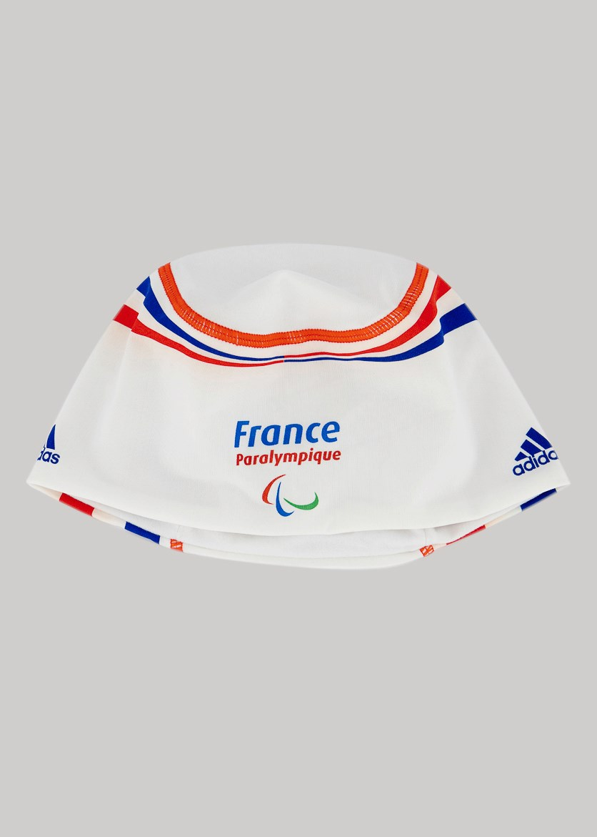 Unisex Paralympique Headwear, White Combo