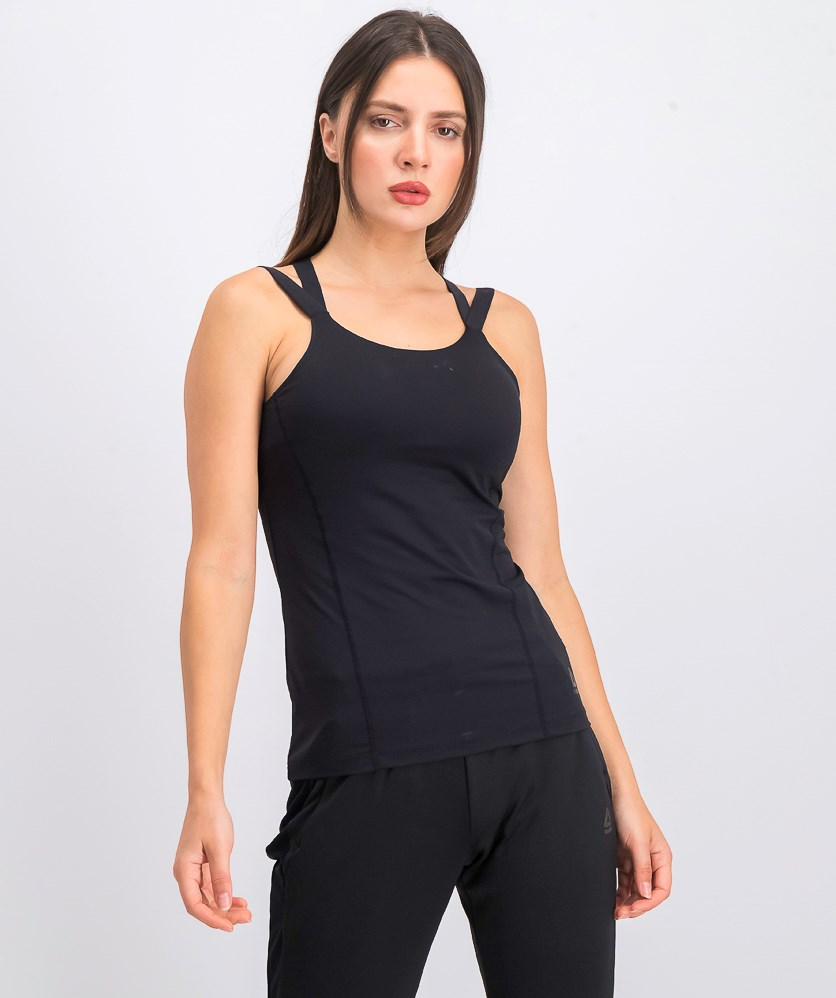 Women's Strappy Top, Black
