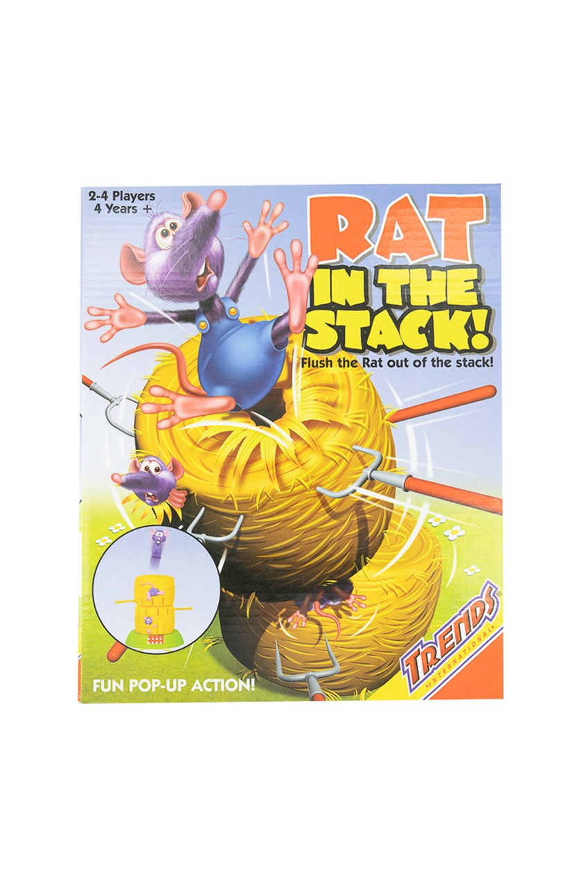 Game Rat In The Stack, Yellow