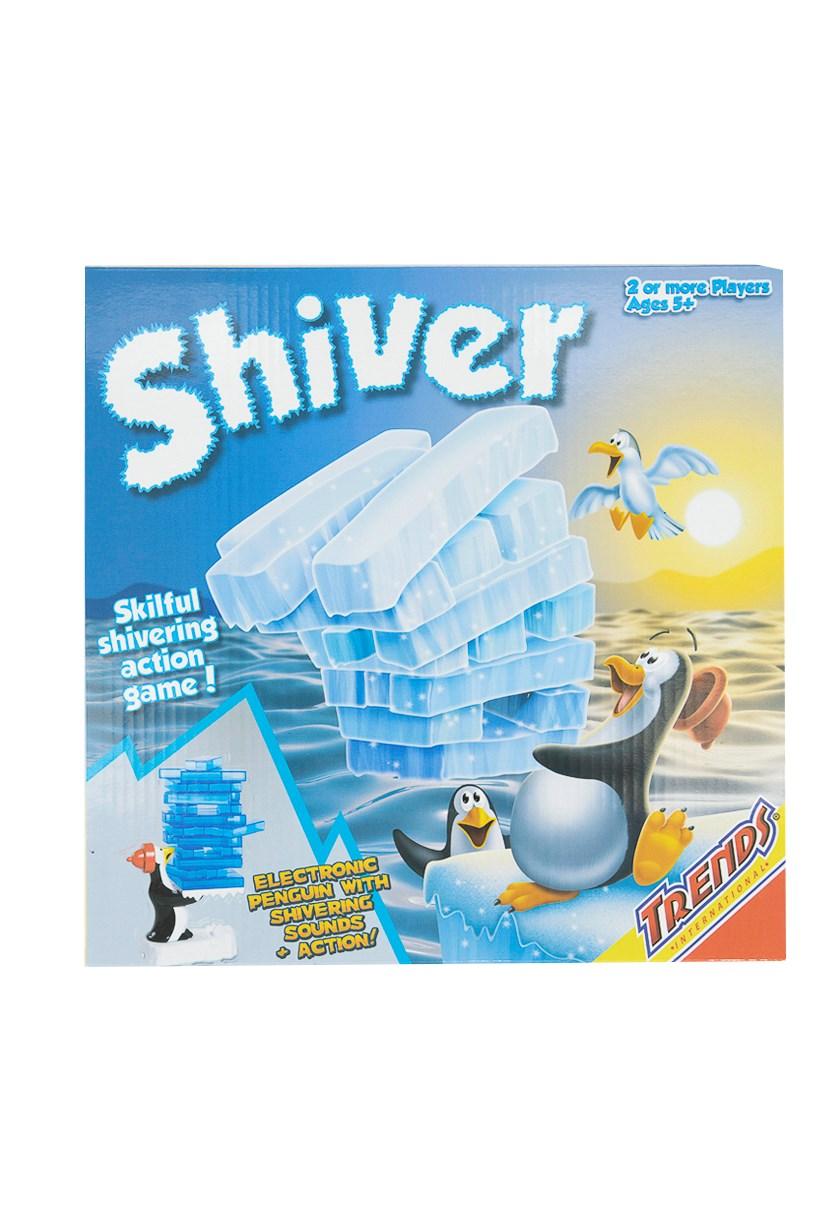 Shivering Penguin Board Game, Blue Combo