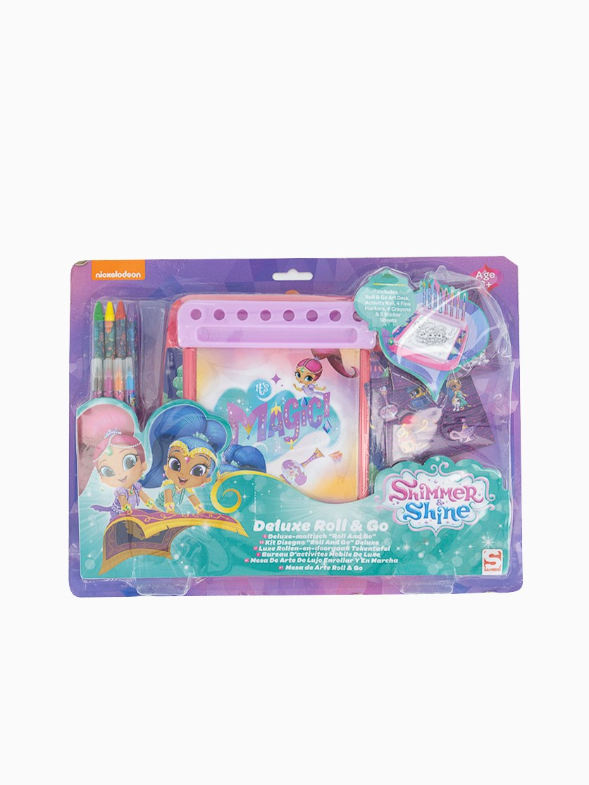 Shimmer and Shine Roll and Go Desk, Purple