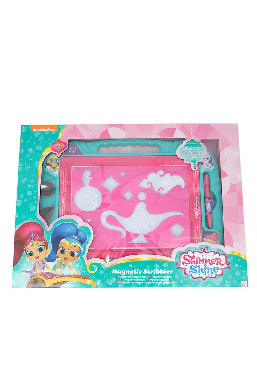 Shimmer And Shine Magnetic Scribbler, Pink/Blue