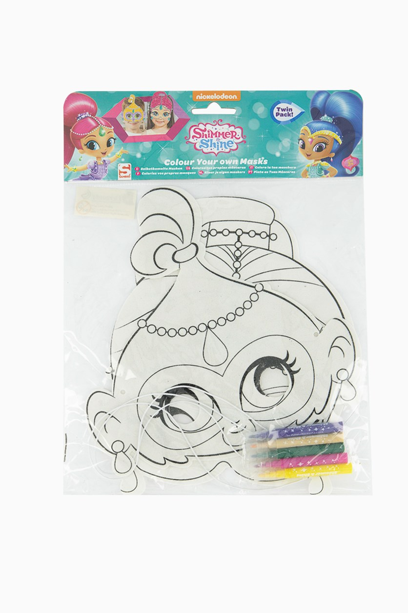 Colour Your Own Masks, White Combo