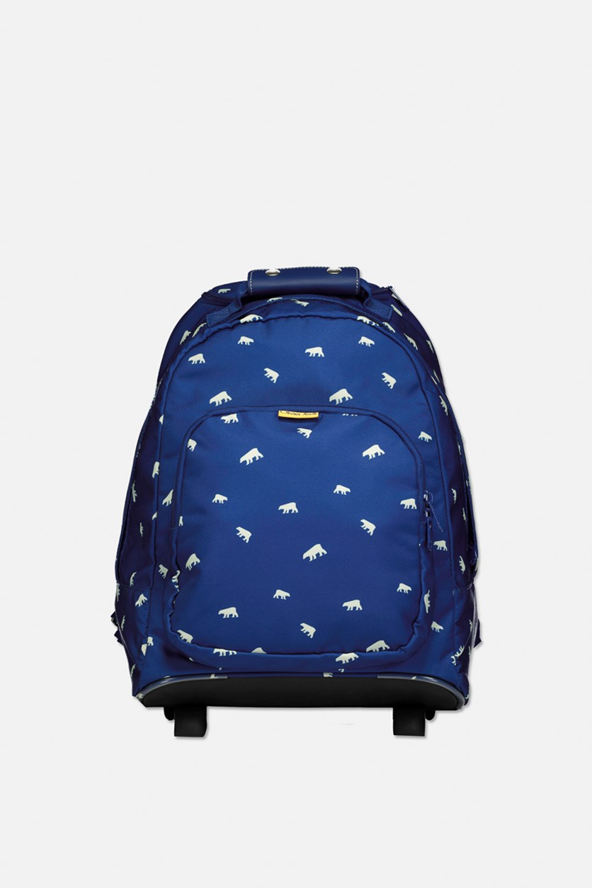 Boy's Backpack Trolley, Blue
