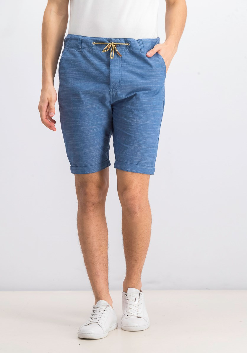Men's Drawstring Short, Blue