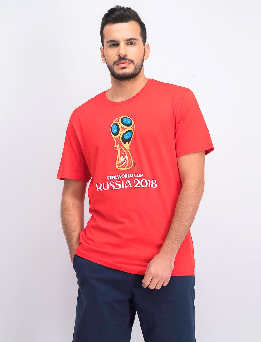 Men's FIFA Russia 2018 Print Tee, Red