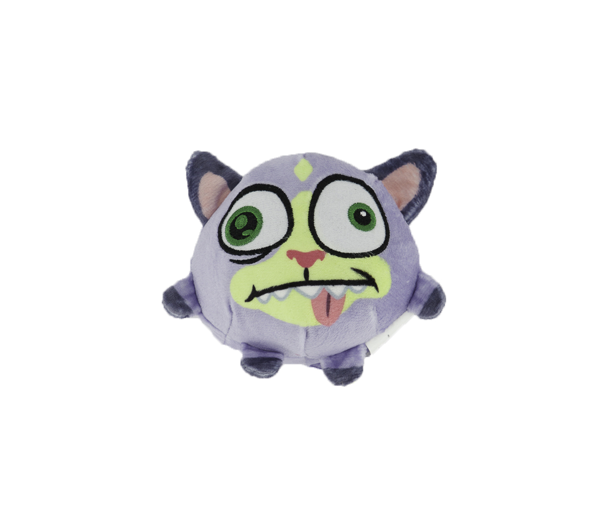 Flying Plush With Sound Effects, Purple/White