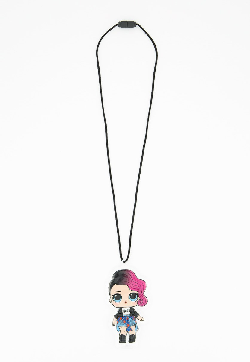 Light-Up Lanyard Doll, Pink