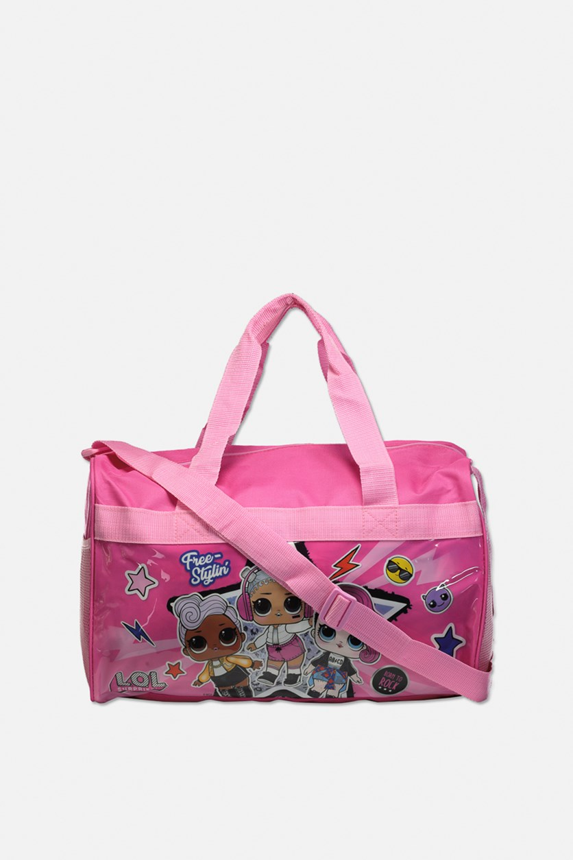 Kid's Girl Free Stylin Travel Bag, Pink
