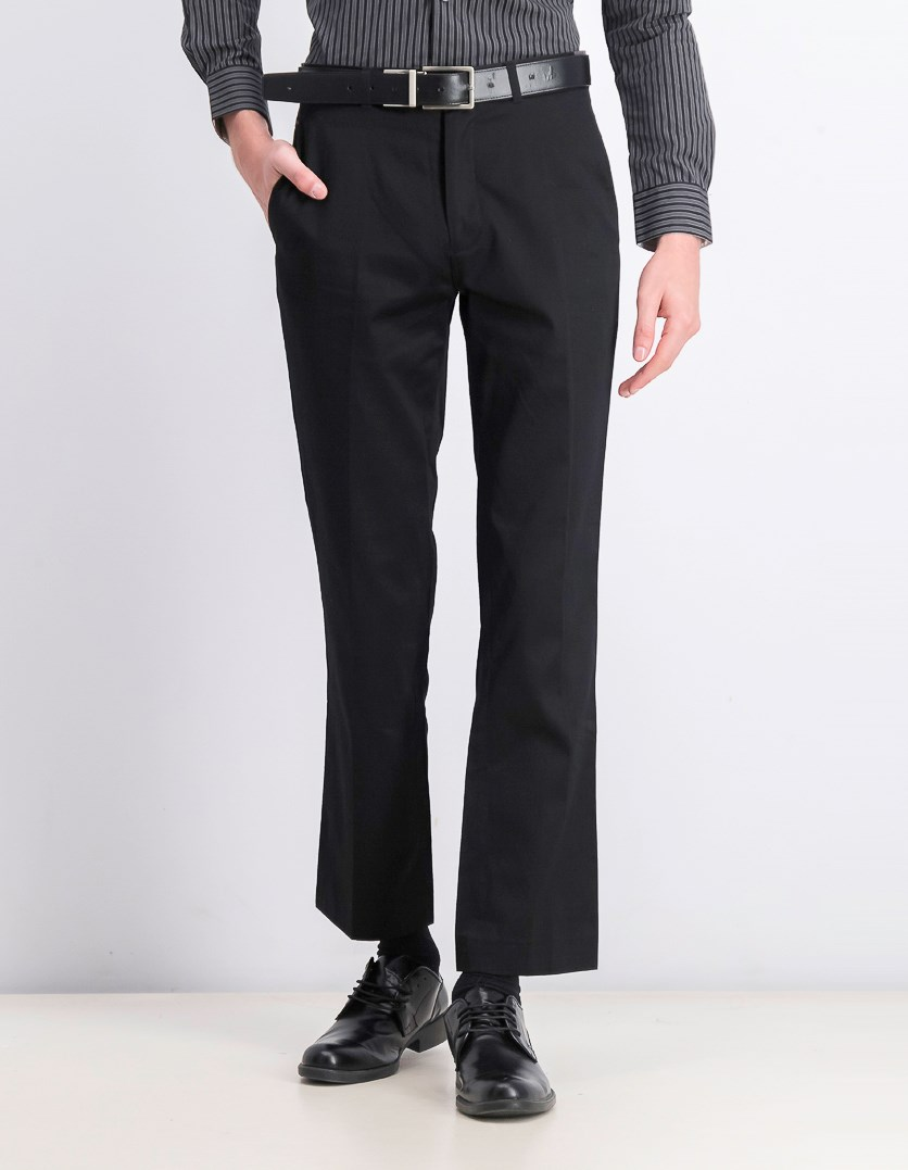 Men's Slim Fit Pants, Black
