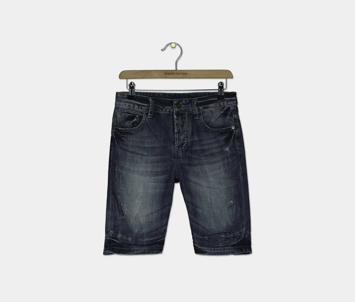 Men's Clark Matteo Denim Shorts, Washed Blue
