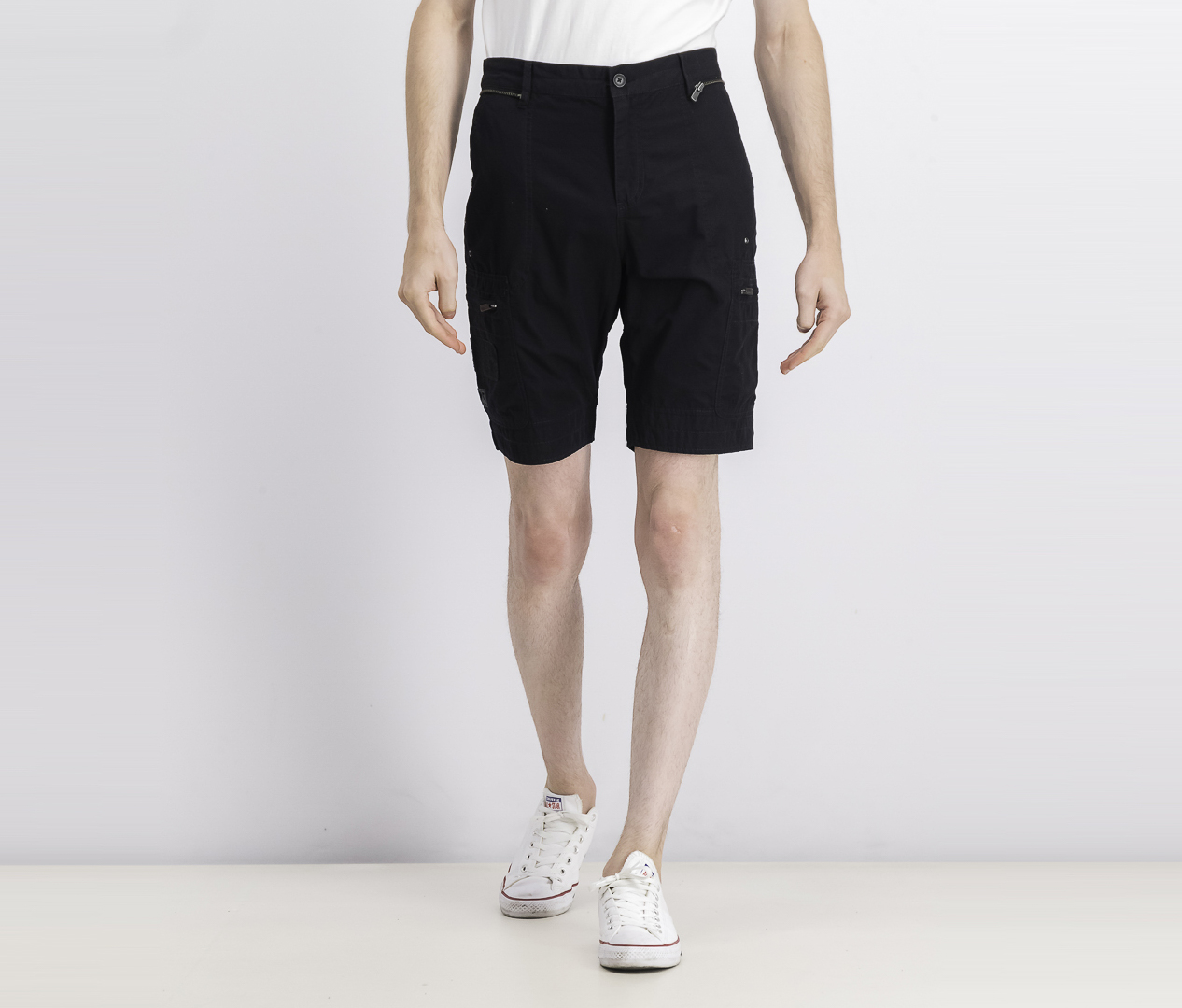 Men's Burg Shorts, Black