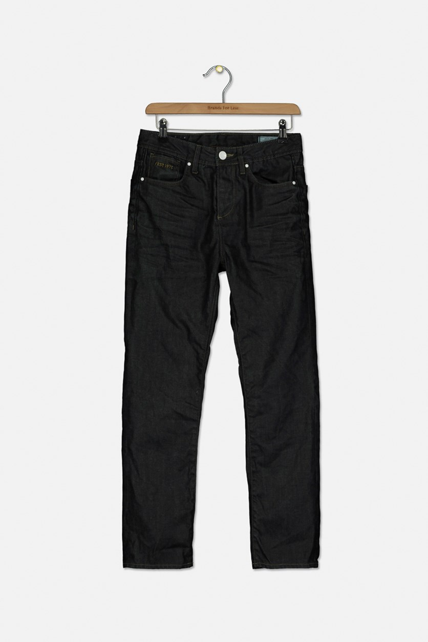 Men's Travis Classic Straight Jeans, Navy
