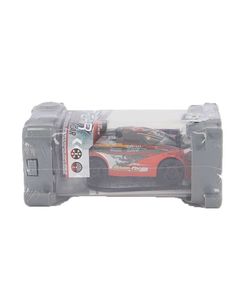 Kid's Boys Tin Super Car, Red Combo