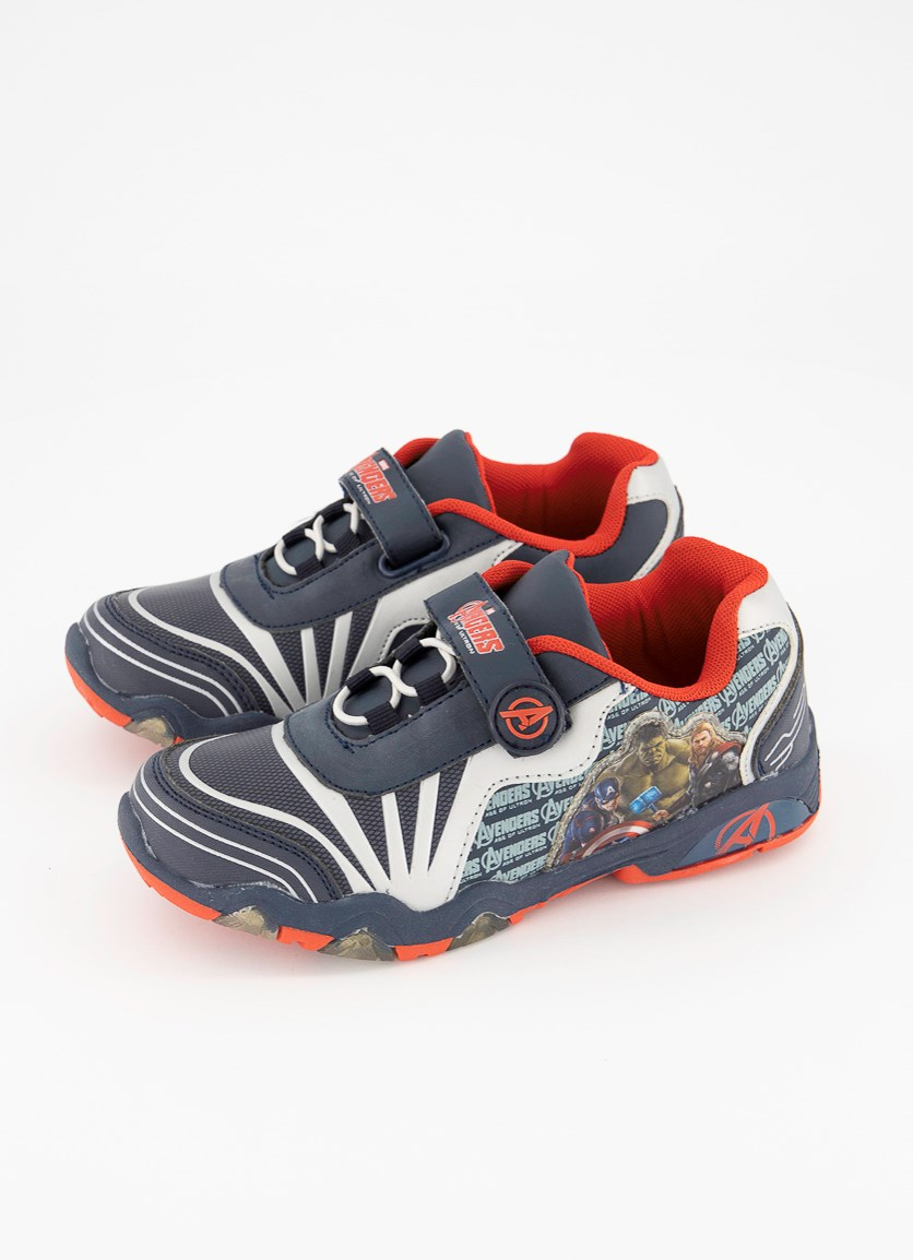 Kid's Boys Avengers Age of Ultron Shoes, Navy/Red
