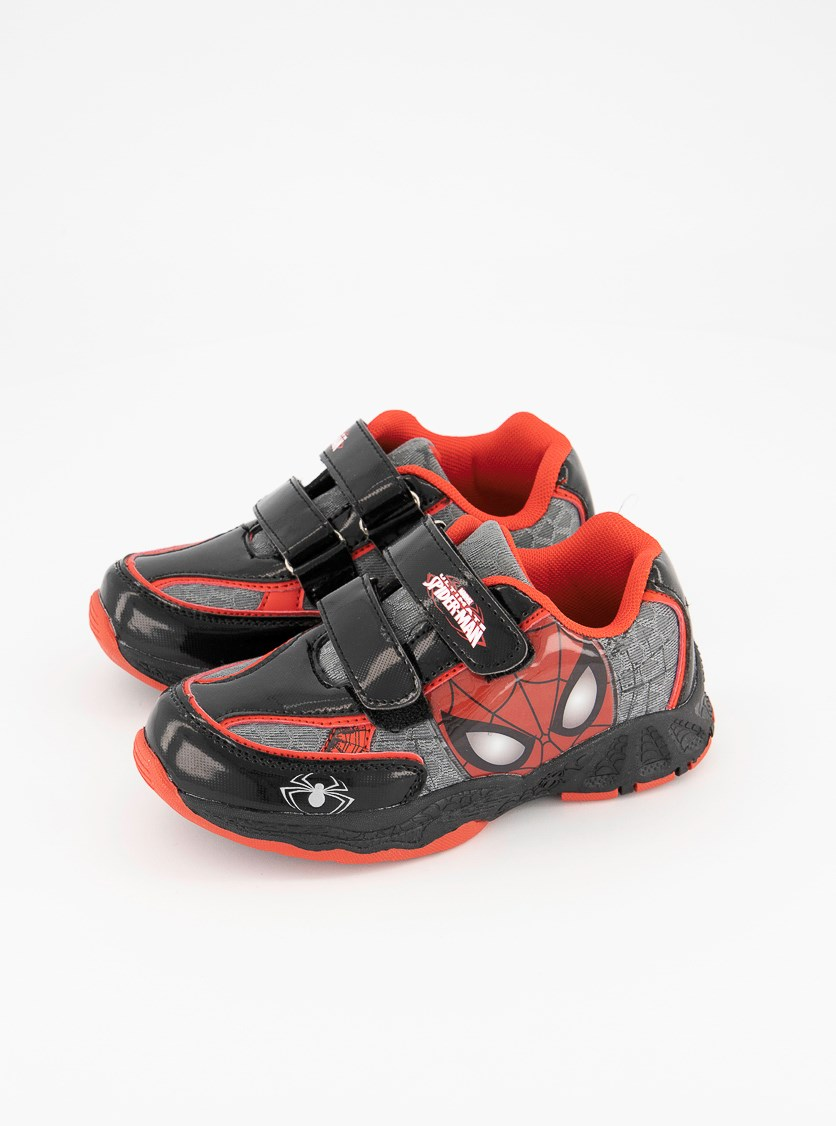 Ultimate Spider Man Shoes, Black/Red