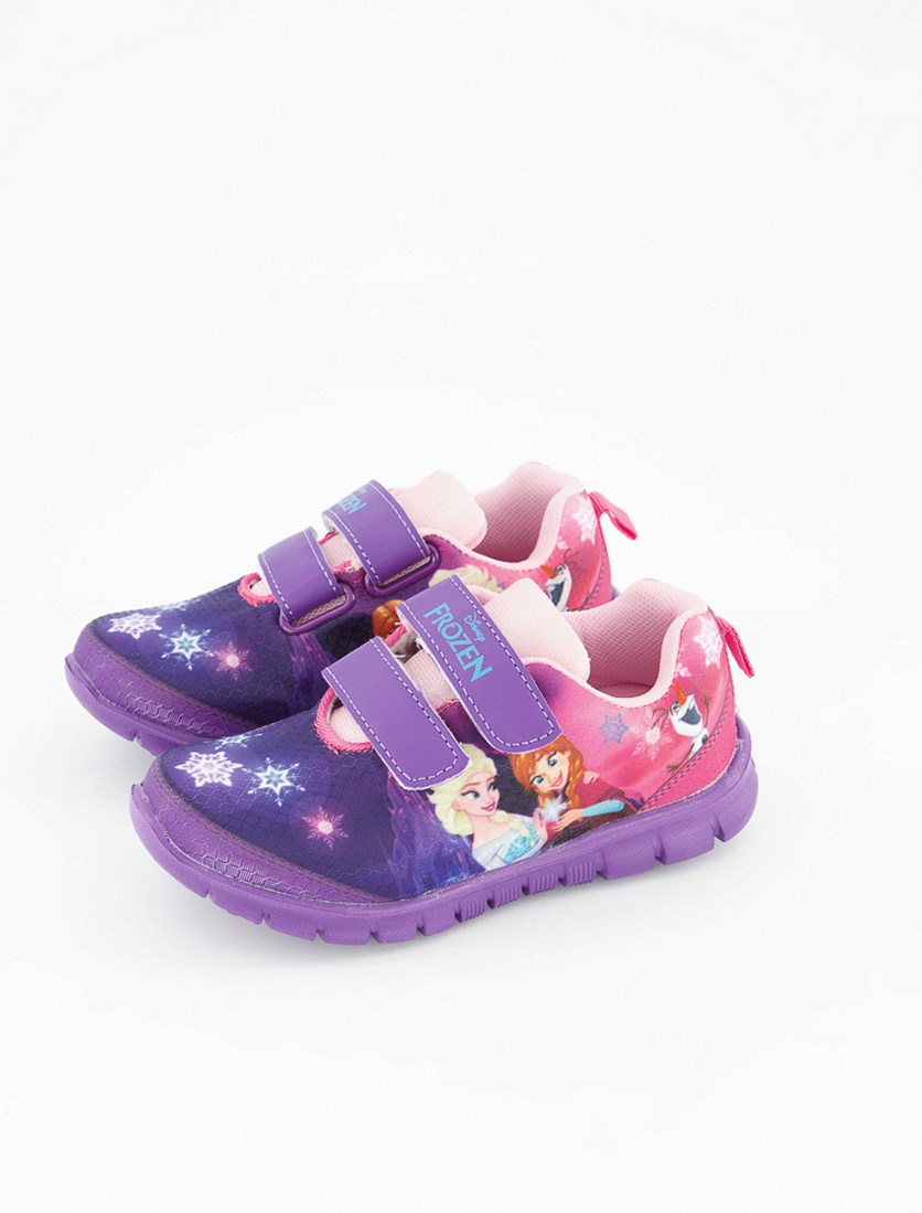 Girl's Frozen Favilla Rubber Shoes, Purple/Pink