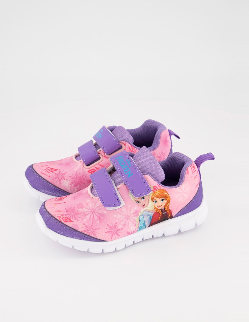 Kid's Girl's Frozen Shoes, Pink/Purple