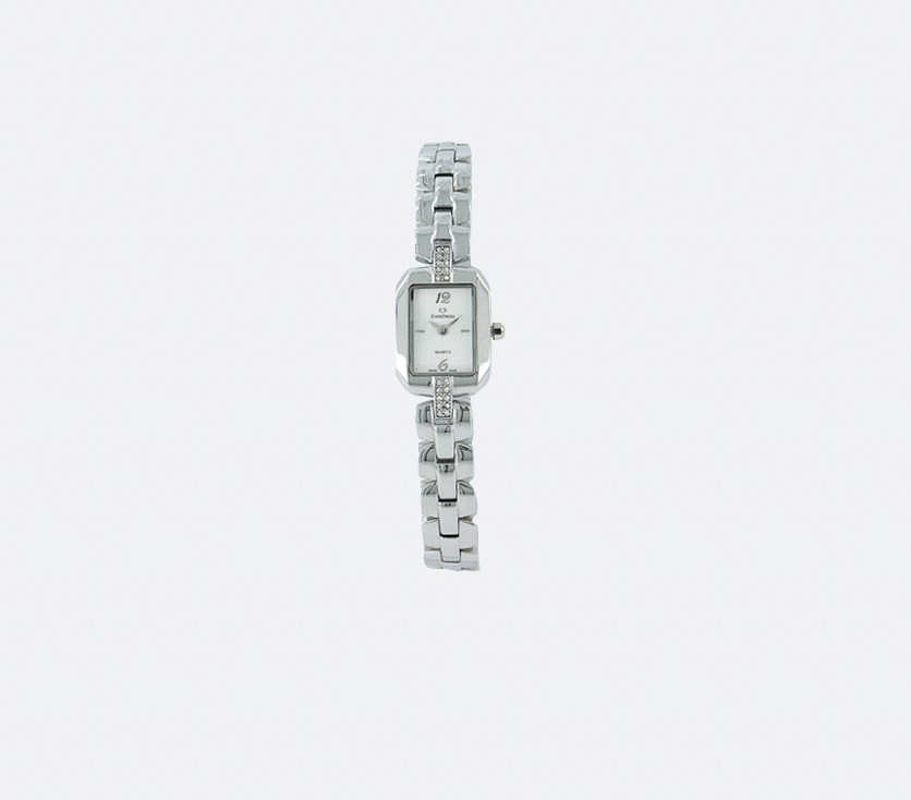 Women's 2783-LSS Analog Watches, White/Silver