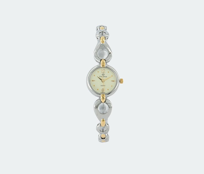 Women's 1688-LTI Analog Watches, Silver/Gold