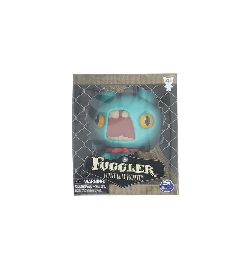 Fuggler Funny Ugly Monster Figure, Turquoise