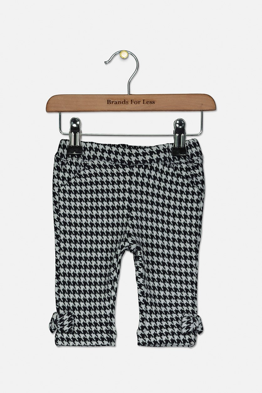 Toddlers Slant Pockets Pants, Navy/White