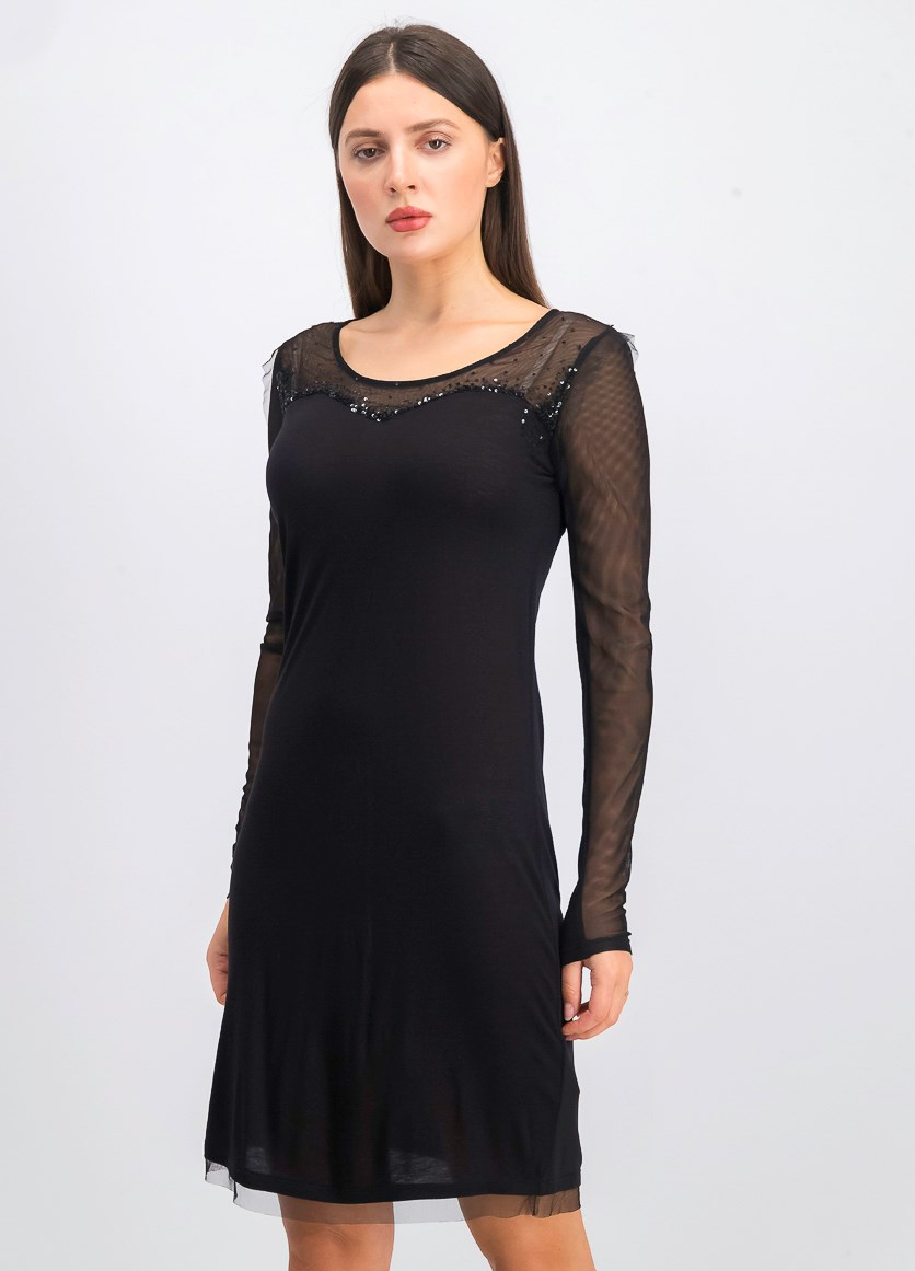 Women's Vicky Abito Dress, Black