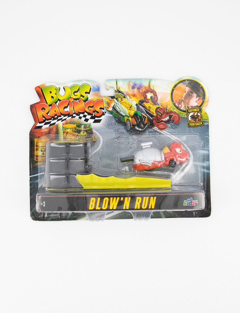 Bugs Racing Press 'n Launch Antrax Playset, Red