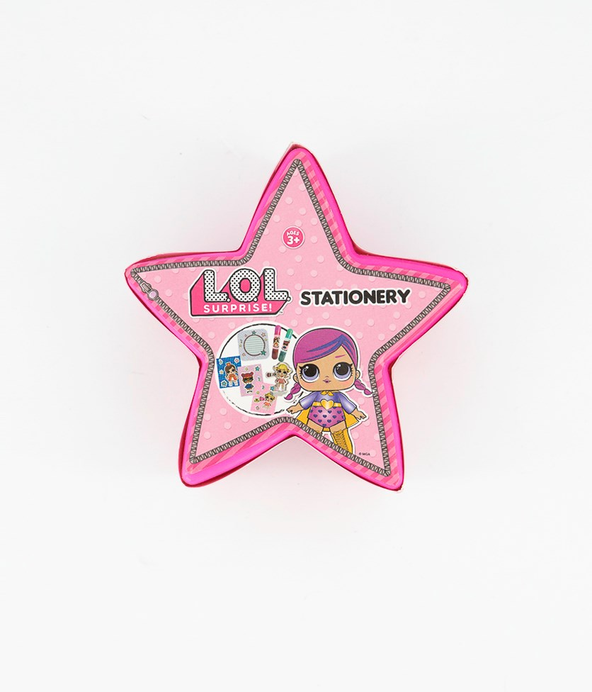 Star Stationary, Pink