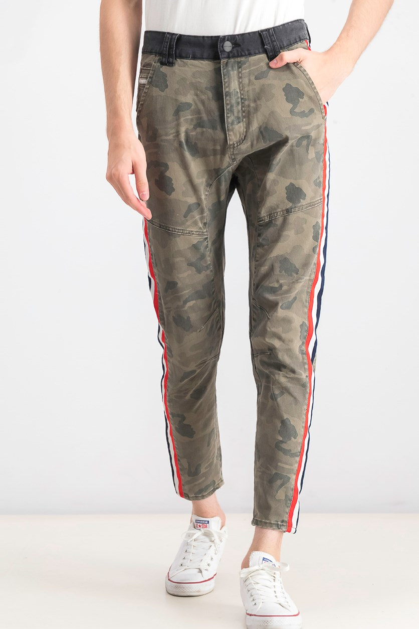 Men's Sergeant Camouflage-Print Skinny Fit Jeans, Airwolf Camo
