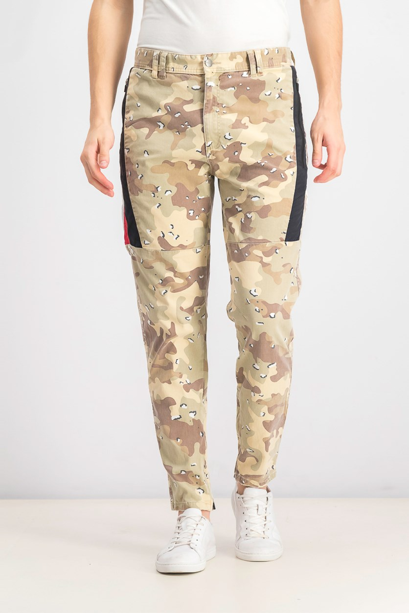 Men's Hawkeye Twill Pants, Chocolate Chip Camo
