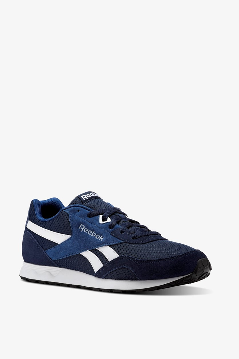 Men's Royal Connect Sports Shoes, Navy Blue/White