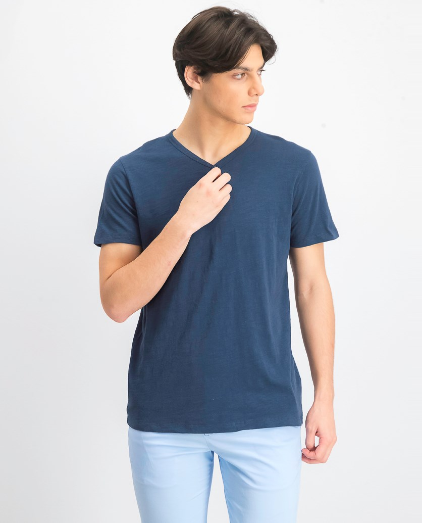 Men's Short Sleeve T-shirt, Blue