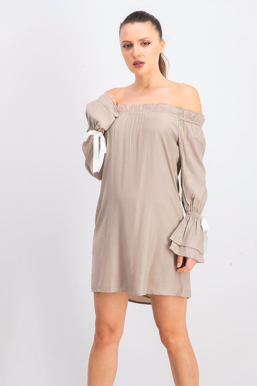 Women's Peyton Dress, Taupe